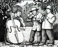 Musicians by Frans Wesselman RE
