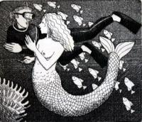 Small Mermaid by Frans Wesselman RE