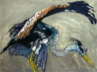 Heron by Julia Manning RE
