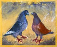 Lovebirds by Julia Manning RE