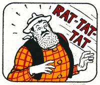Rat-Tat-Tat by John Patrick Reynolds