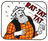 Rat-Tat-Tat by John Patrick Reynolds