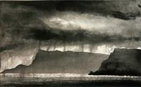 Bay of Laig - Eigg by Norman Ackroyd CBE, RA, ARCA, RE, MA