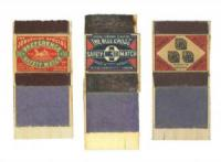 Three Matchboxes by Sir Peter Blake