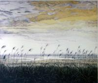 Morston Marshes by Pat Keel-Diffey