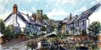 East Budleigh (Landscape) by Richard Briggs