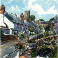 East Budleigh (Portrait) by Richard Briggs