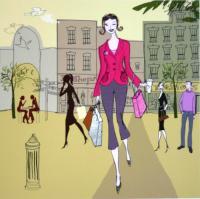 I Love Shopping by Sam Wilson