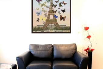 Eiffel Tower (Large Lenticular)